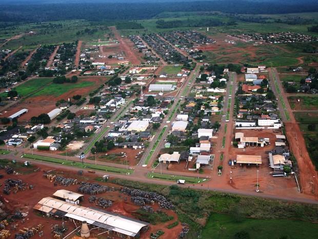 Itaúba foi a cidade que mais encolheu nos últimos anos (Foto: Assessoria/ Prefeitura de Itaúba (MT))