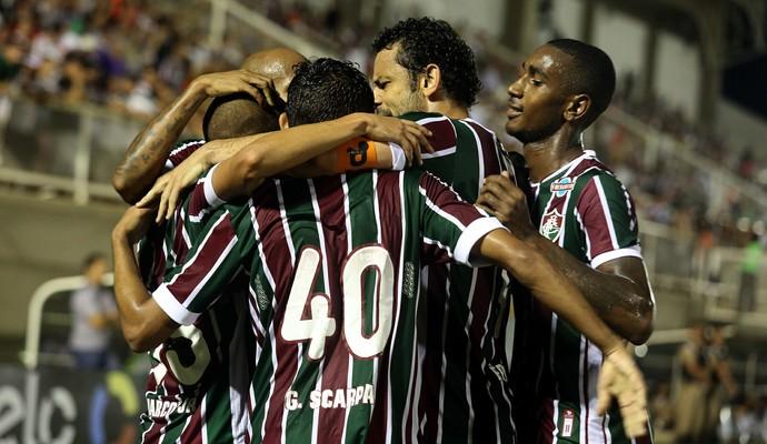 fluminense elenco tombense copa do brasil (Foto: Nelson Perez / FluminenseFC)