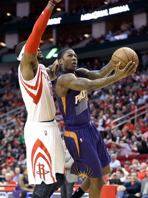 Archie Goodwin e Josh Smith, Houston Rockets x Phoenix Suns (Foto: AP)
