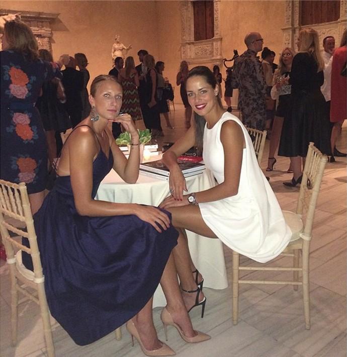 Ana Ivanovic, tênis, festa Nova York (Foto: Instagram)