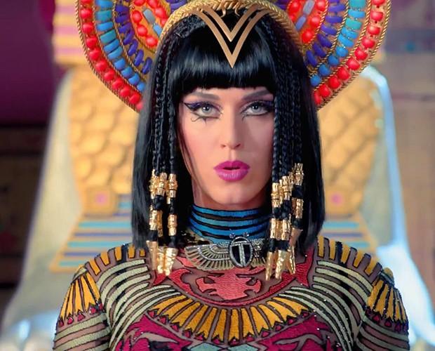 Katy Perry se torna a primeira mulher com 1 bilhão de vizualizações em um clipe (Foto: Reprodução)