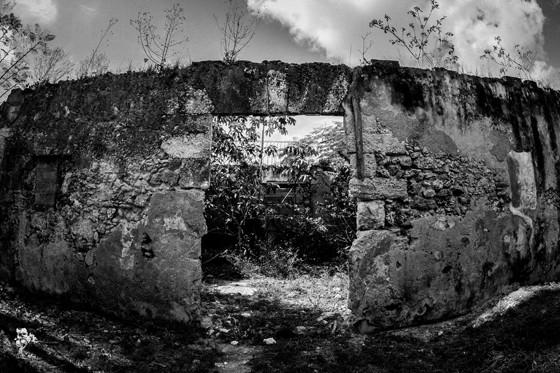 Ruínas da antiga casa-grande do Engenho Los Molinos, em Matanzas, onde Manzano foi mantido como escravo (Foto: Claudia Regina)