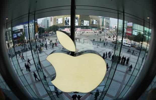 Loja da Apple na China (Foto: Getty Images)
