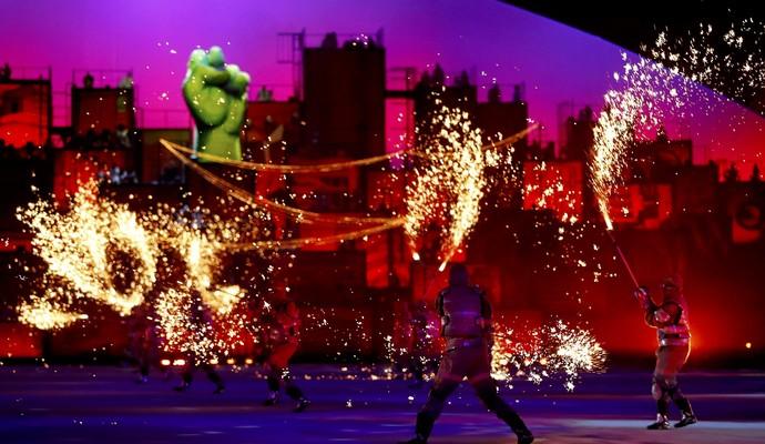 Maracanã abertura Olimpíada (Foto: Reuters)
