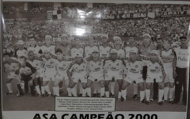 ASA Campeão em 2000 (Foto: Denison Roma)