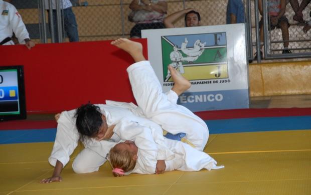 Circuito Amapaense de Judô serve de seletiva de atletas para competição nacional (Foto: Gabriel Penha/GE-AP)