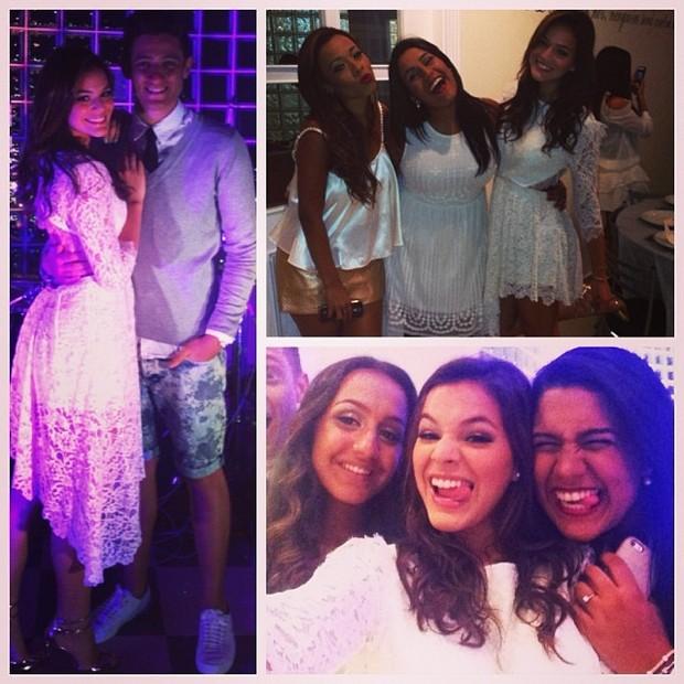 Bruna Marquezine comemora virada do ano com amigos (Foto: Reprodução/Instagram)