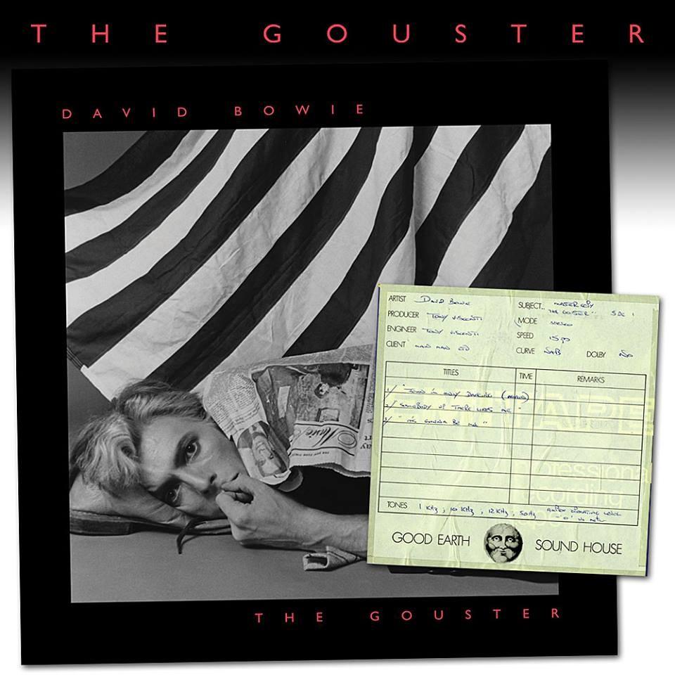 Capa do The Gouster, de David Bowie (Foto: Reprodução/Facebook)