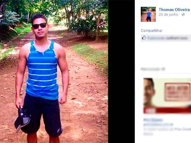 Baiano de 20 anos, morador de Itabuna, foi morto em Genebra, na Suíça, vítima de arma de fogo (Foto: Reprodução/ Facebook)