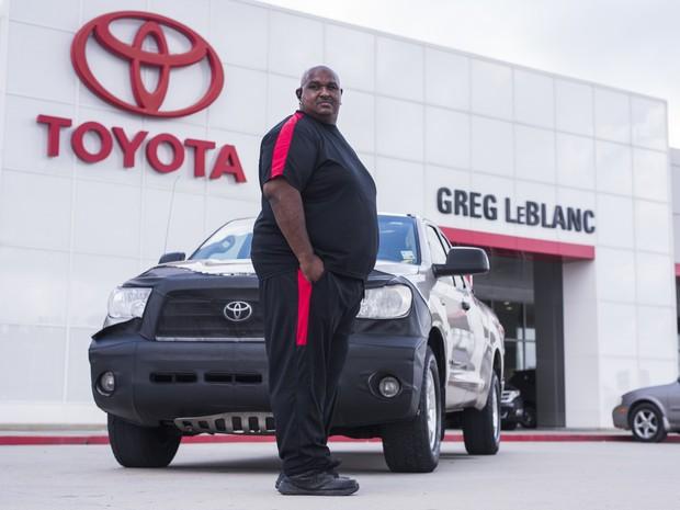 Victor Sheppard rodou mais de 1,6 milhão de quilômetro com sua Toyota Tundra (Foto: Divulgação)