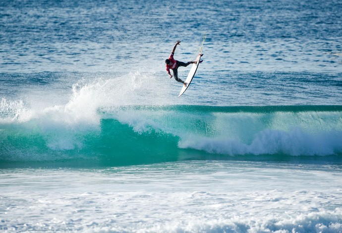 Gabriel Medina quartas de final etapa frança surfe (Foto: Divulgação/WSL)