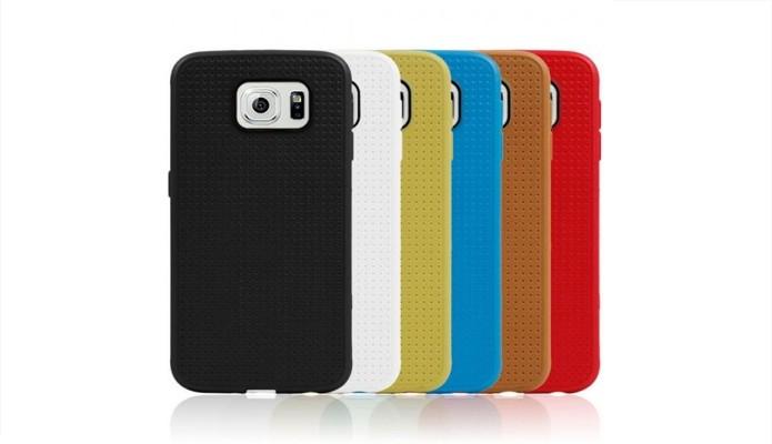 Capas coloridas com furinho para Galaxy S6 (Foto: Divulgação/Loja Império)