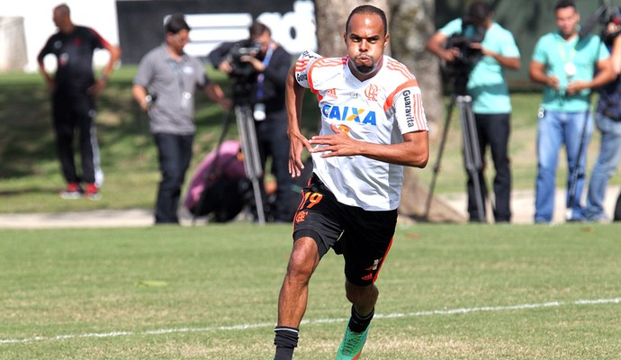 Alecsandro Treino flamengo (Foto: Gilvan de Souza / Flamengo)