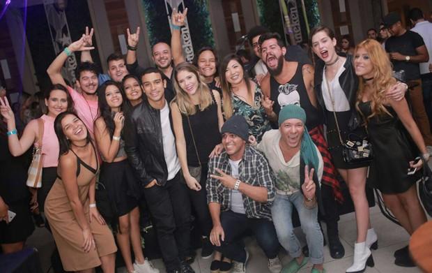 Famosos se divertem em noite sertaneja no Rio (Foto: Marcos Macedo/ Palmer Assessoria de Comunicação)