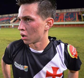 Lucas Holanda, atacante Vasco-AC (Foto: Duaine Rodrigues)