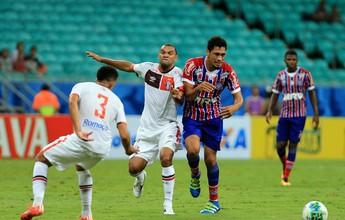 Hernane deixa sua marca, Bahia derrota o Joinville e entra no G-4