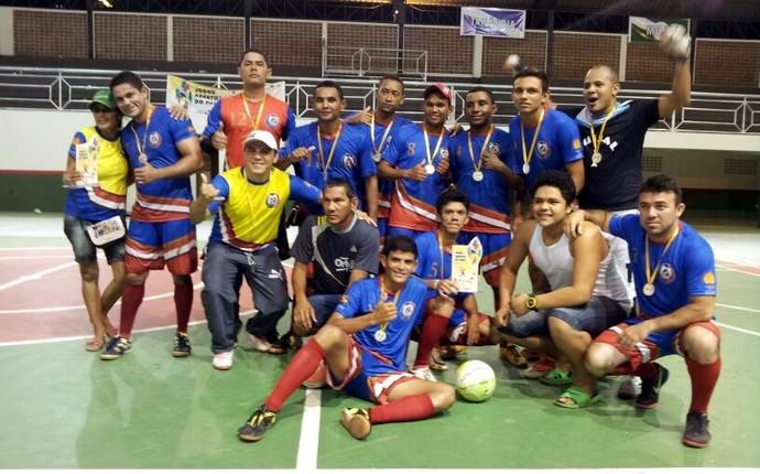 Abaetetuba foi campeã da etapa regional dos VIII Jogos Abertos do Pará (Foto: Ascom Seel)