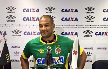 """À espera do título, Rodrigo relembra momentos no Vasco: """"Uma gangorra"""""""