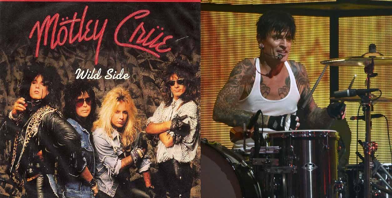 O baterista do Mötley Crüe, Tommy Lee, incorporou o estereótipo de roqueiro em sua vida. Seguindo o colega de profissão do Poison, ele fez carreira também nos realities shows, além de ter seu vídeo de sexo com Pamela Anderson divulgado globalmente. (Foto: Divulgação/ Getty Images)