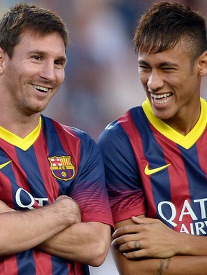 messi e Neymar, Barcelona (Foto: Getty Images)