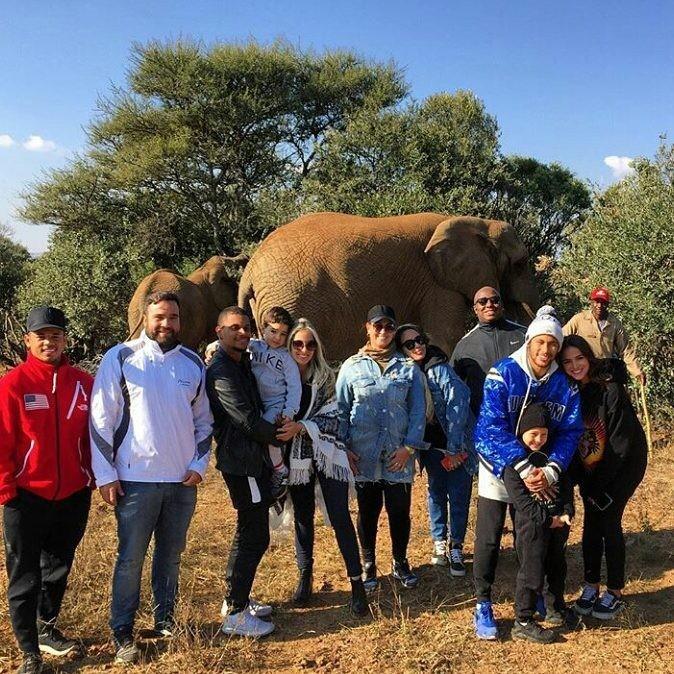 Neymar curte férias na África (Foto: Instagram/Reprodução)