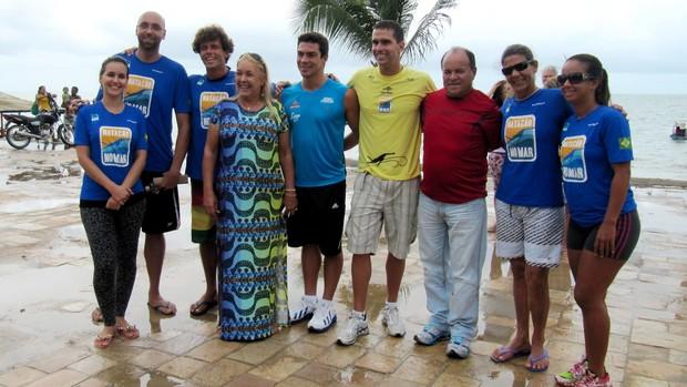 Projeto Natação no Mar (Foto: Divulgação / Prefeitura do Conde)