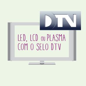 TV COM SELO DTV (Foto: Divulgação/ TV Gazeta)