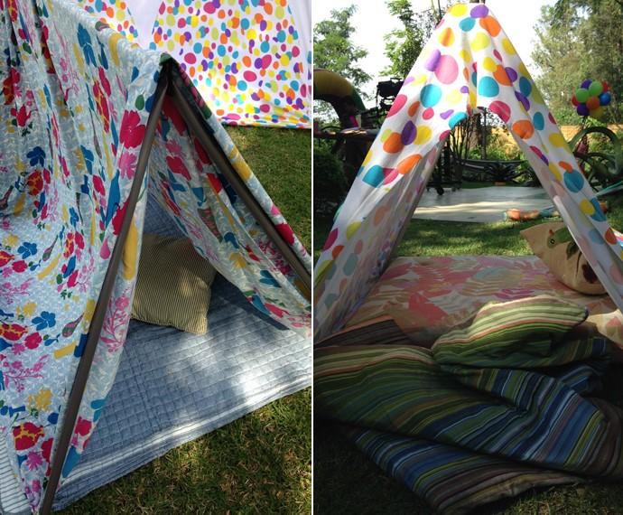 Peter Paiva ensina a fazer cabana com custo baixíssimo (Foto: Carolina Morgado/Gshow)