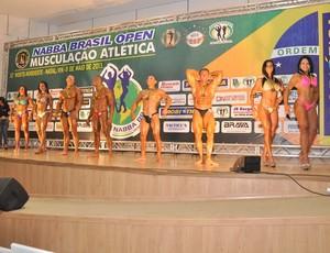 Santa Cruz sedia Interiorano de Musculação Atlética (Foto: Divulgação/Nabba RN)