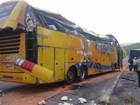 Rio Claro: outro acidente é registrado onde ônibus tombou na RJ-155