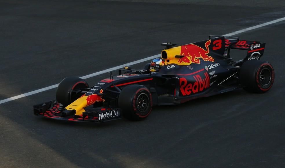 Daniel Ricciardo durante o GP do Azerbaijão (Foto: REUTERS/David Mdzinarishvili)