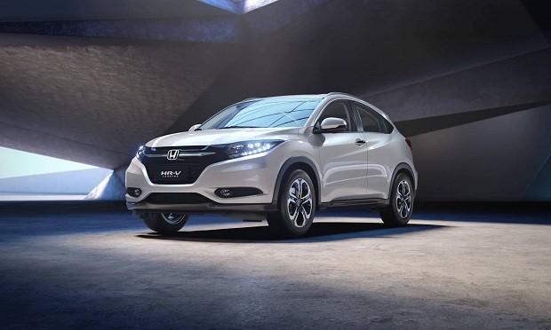 O modelo Honda HR-V foi o que menos se valorizou em 2017 (Foto: Divulgação)