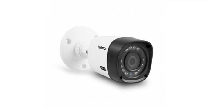 Câmera Intelbras VHD1220 B oferece visão noturna e qualidade Full HD (Foto: Divulgação/Intelbras)