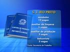 Confira as vagas de emprego desta 5ª feira para São José do Rio Preto