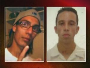 César e Ricardo morreram em 2012 (Foto: Reprodução/TV Globo)