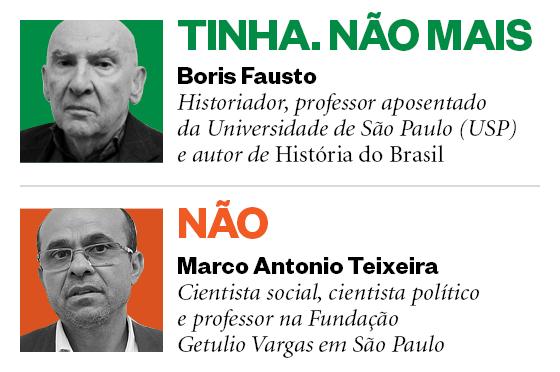 Boris Fausto e Marco Antonio Teixeira (Foto: Época )