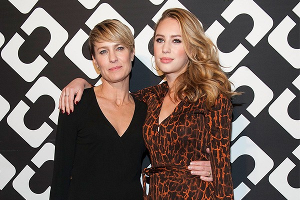 Robin Wright e Dylan Penn (Foto: Getty Images)