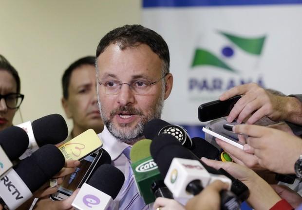 O secretário de Segurança Pública do Paraná, Wagner Mesquita (Foto: Divulgação)