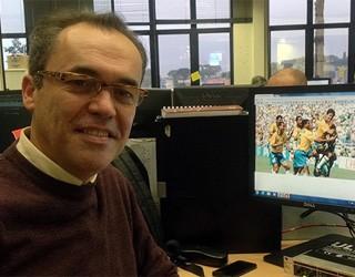 Sandro Dal Piccolo Copas Inesquecíveis (Foto: Divulgação/ RPC TV)