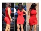 Te cuida, Gracyanne! Vestido deixa bumbum de Kim Kardashian marcado