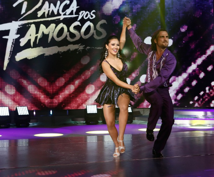 Igor Rickli brilha na estreia do 'Dança 2015' (Foto: Inácio Maraes/Gshow)