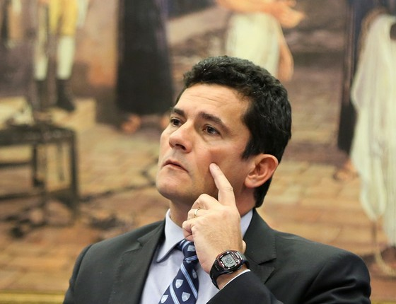 O juiz Sergio Moro (Foto: Marcelo Camargo/Agência Brasil)