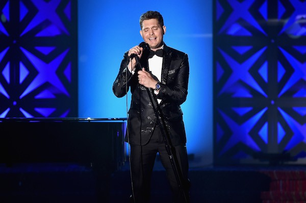 O cantor Michael Bublé (Foto: Getty Images)