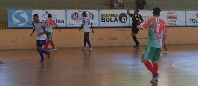 Três Rios fica no 3 a 3 com Itatiaia, em Piraí (Foto: Divulgação/TV Rio Sul)