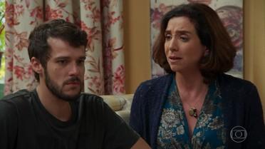Francesca tenta convencer Giovanni a viajar com Bruna