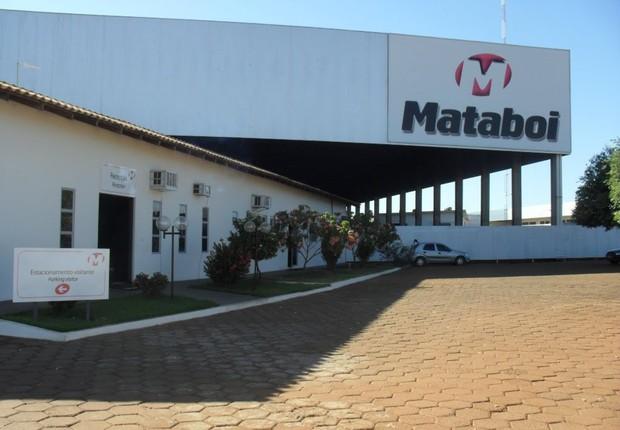 Unidade da empresa de agronegócio Mataboi (Foto: Reprodução/Facebook)