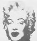 "Andy Warhol. ""Marlyn Monroe"". (Foto: Reprodução/Enem)"