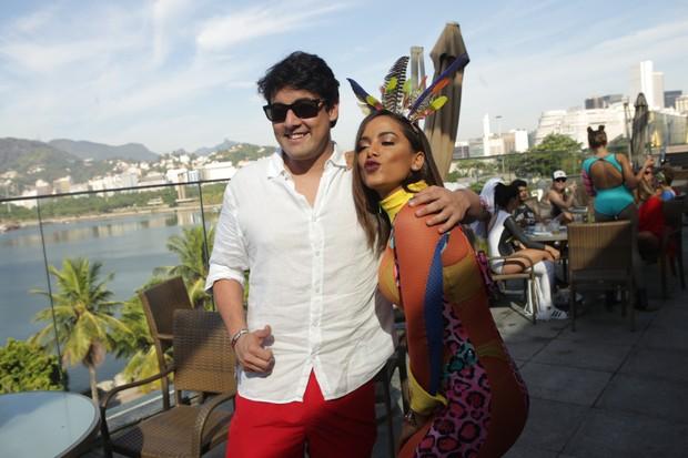Anitta e Bruno de Lucca (Foto: Raphael Mesquita/Brazil News)