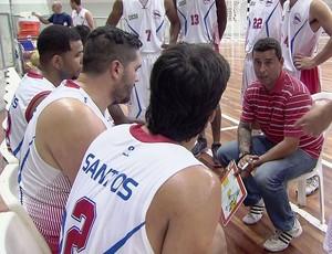 Internacional basquete Campeonato Paulista (Foto: Reprodução / TV Tribuna)