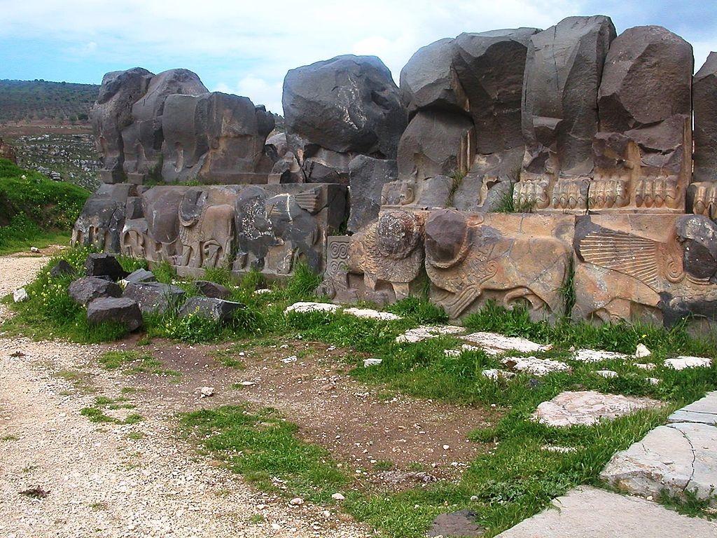 Sítio arqueológico antes de sua destruição (Foto: Wikimedia Commons)